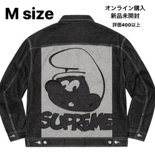 Supreme - supreme smurf's denim jacket Mサイズ スマーフ