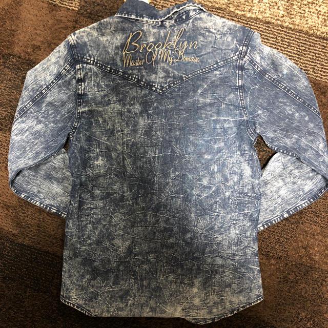 Karl Kani(カールカナイ)の新品未使用 デニムシャツ レディースのトップス(シャツ/ブラウス(長袖/七分))の商品写真