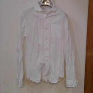 ギャップ(GAP)のGAP ホワイト リネンシャツ Sサイズ(シャツ)