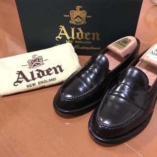 Alden - 本日限定値下げ‼️着用3回のみ‼️極美品オールデン 986 6.5Dコードバン