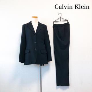 カルバンクライン(Calvin Klein)のCalvin Klein スーツ ジャケット パンツ 黒 フォーマル 2点セット(スーツ)