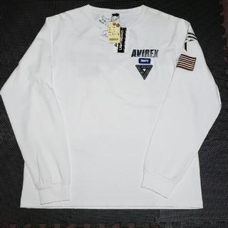 AVIREX - AVIREX バックロゴ刺繍 長袖Tシャツ 新品タグ付き