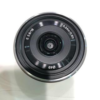ソニー SONY 単焦点レンズ 16mm F2.8 美品 送料込み