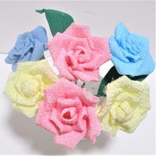 【2-056】つまみ細工の手作りキット〈薔薇〉(その他)