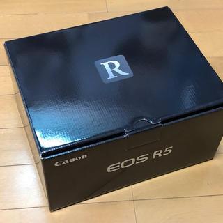 Canon - キヤノン EOS R5 新品 国内正規品