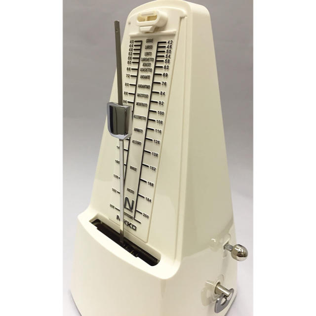 NIKKO(ニッコー)の日工 メトロノーム スタンダード アイボリー 221 楽器の楽器 その他(その他)の商品写真