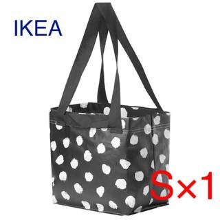 イケア(IKEA)の【新品】IKEA スクルッティグ エコバッグ Sサイズ 1枚(ショップ袋)