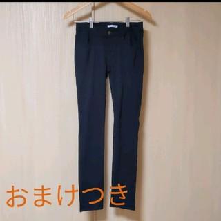 神戸レタス 黒 スキニー パンツ S