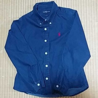 Ralph Lauren - ラルフローレン ボタンダウンシャツ美品150cm SLIM FIT