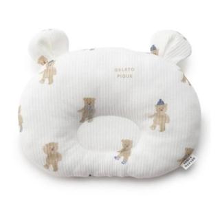 ジェラートピケ(gelato pique)のテディベア babyピロー(枕)