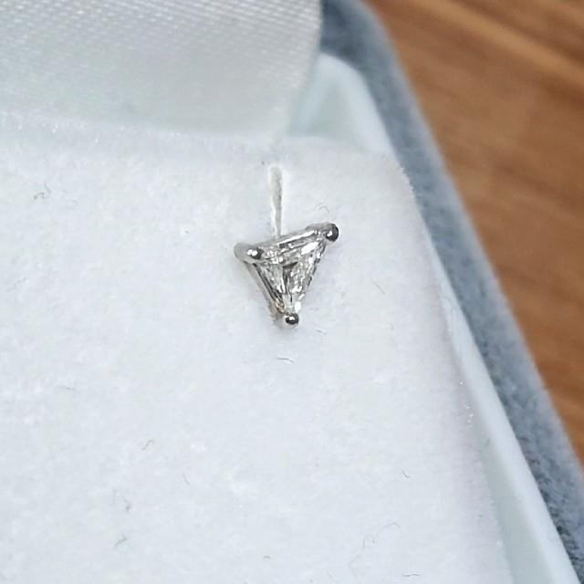 agete(アガット)のレア♪ ダイヤモンド ピアス pt900   レディースのアクセサリー(ピアス)の商品写真