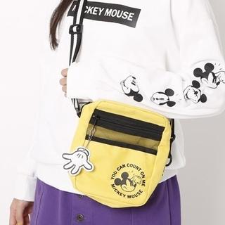 ラブトキシック(lovetoxic)の【ニコラ掲載☆新品】lovetoxic ミッキーマウス ショルダーバッグ(ポシェット)