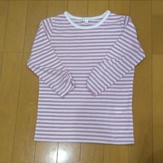 アーヴェヴェ(a.v.v)の七分袖 120サイズ  (Tシャツ/カットソー)