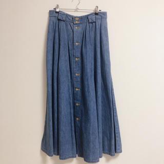 カルバンクライン(Calvin Klein)のカルバンクライン デニム ロングスカート(ロングスカート)