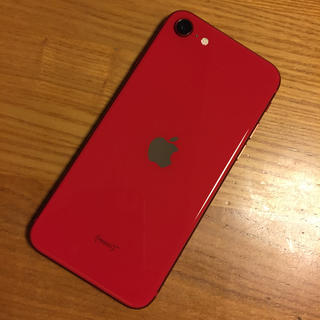 iPhone - ほぼ未使用!docomo iphone se2 9hフィルム貼り付け済