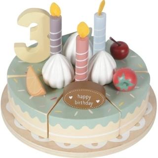 【新品未使用】Little Dutch(リトルダッチ)木製バースデイケーキ