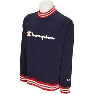 チャンピオン(Champion)の新品 M champion golf long sleeve シャツ ネイビー(ウエア)