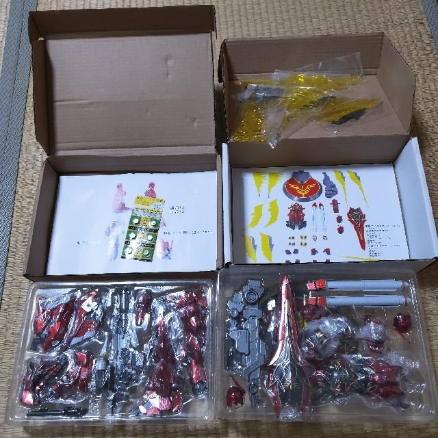 合金完成品 シナンジュ 1/100 可動フィギュア エンタメ/ホビーのおもちゃ/ぬいぐるみ(模型/プラモデル)の商品写真