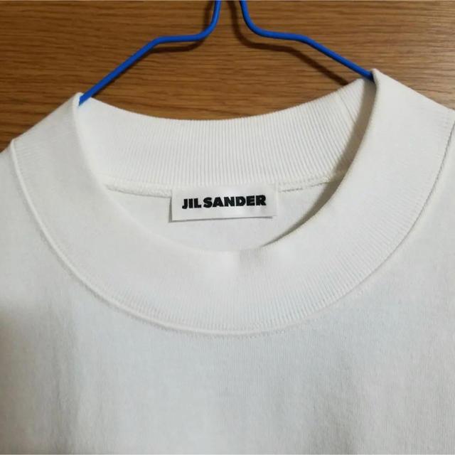 Jil Sander(ジルサンダー)のジルサンダー オーバーサイズ ビッグシルエット Tシャツ メンズのトップス(Tシャツ/カットソー(半袖/袖なし))の商品写真