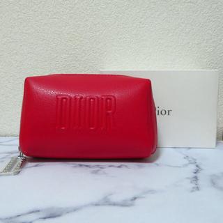 Dior - Dior ノベルティ ポーチ 2020 レッド