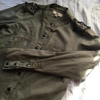 ユナイテッドアローズ(UNITED ARROWS)の〈リカ〉ミリタリーシャツ ジャケット XS(ミリタリージャケット)