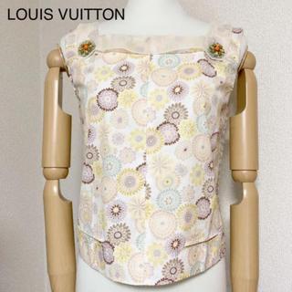 ルイヴィトン(LOUIS VUITTON)のルイヴィトン ノースリーブ トップス(シャツ/ブラウス(半袖/袖なし))