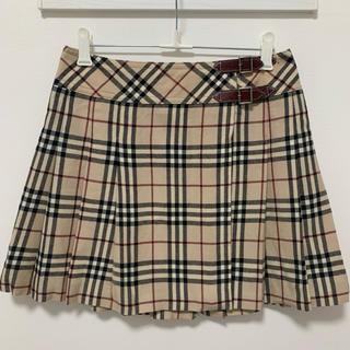 BURBERRY - BURBERRY チェック スカート