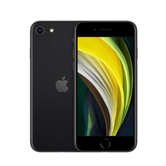 iPhone(アイフォーン)のiPhone SE2 64GB ブラック 【新品・未使用】 SIMロック解除済 スマホ/家電/カメラのスマートフォン/携帯電話(スマートフォン本体)の商品写真
