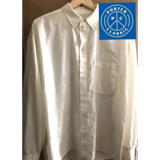 コモリ(COMOLI)のポータークラシック PC ガーゼイージーシャツ(シャツ)