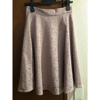 PROPORTION BODY DRESSING - フレア レーススカート