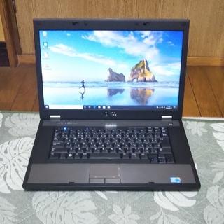安価なノートパソコン 4GB/320GB DELL Latitude E5510