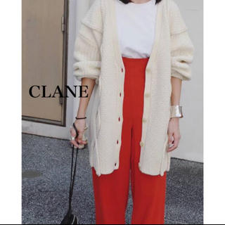 ENFOLD - 定価31,000円 CLANE 3D CABLE KNIT CARDIGAN