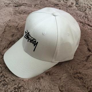STUSSY - Stussyステューシー キャップ 帽子 ホワイト