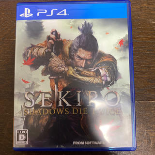PlayStation4 - SEKIRO: SHADOWS DIE TWICE PS4