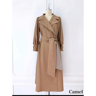 Her lip to Belted Dress Trench Coat