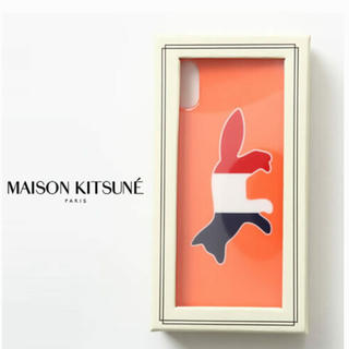 メゾンキツネ(MAISON KITSUNE')の★MAISON KITHUNE★iPhoneケース★(iPhoneケース)