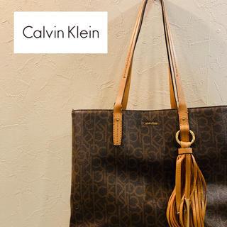 カルバンクライン(Calvin Klein)の【総柄】Calvin Klein カルバンクライン  トートバッグ(トートバッグ)