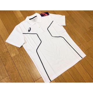 アシックス(asics)の新品未使用asicsD1ポロシャツ白Mサイズアシックストレーニング定価5390(ポロシャツ)