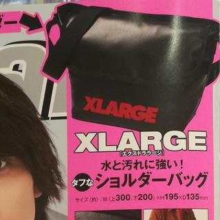 XLARGE(エクストララージ) ショルダーバッグ 雑誌付録品