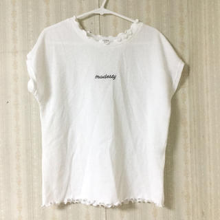 コルザ(COLZA)の白 トップス(Tシャツ(半袖/袖なし))
