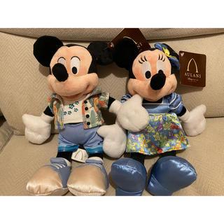 ディズニー(Disney)のミッキーミニーぬいぐるみ(キャラクターグッズ)