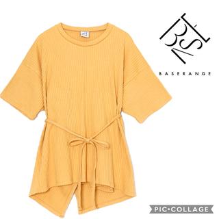 エディットフォールル(EDIT.FOR LULU)のBASERANGE / ベースレンジ SHAW TEE / リブカットソー(Tシャツ(半袖/袖なし))