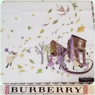 BURBERRY - バーバリーハンカチ∞木枯らし秋~