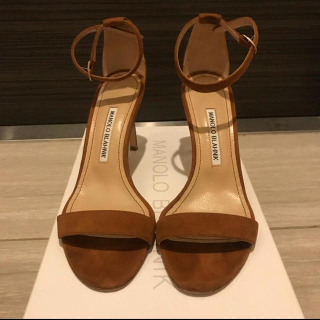 MANOLO BLAHNIK(マノロブラニク)のチェリー様専用 マノロブラニク サンダル レディースの靴/シューズ(サンダル)の商品写真