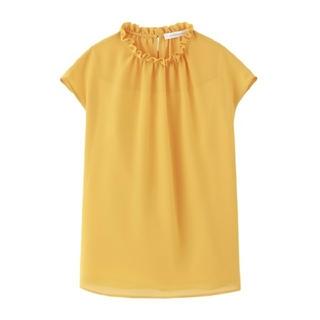 エムプルミエ(M-premier)のエムプルミエ トップス ブラウス(シャツ/ブラウス(半袖/袖なし))