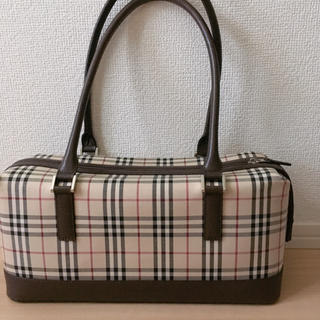 BURBERRY - BURBERRY バーバリー ノバチェックトートバッグ