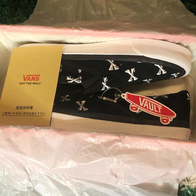 W)taps(ダブルタップス)の【28.5cm】WTAPS VANS VAULT SLIP-ON LX メンズの靴/シューズ(スニーカー)の商品写真