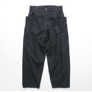 SUNSEA - stein EX Wide Hooked Denim Jeans サイズS