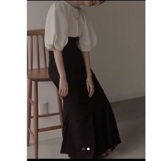 TODAYFUL - louren マーネイドプリーツスカート black