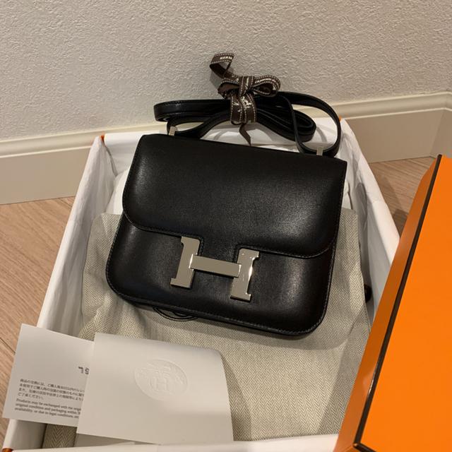 Hermes(エルメス)のHERMES エルメス  コンスタンスミニ ノアール  レディースのバッグ(ショルダーバッグ)の商品写真